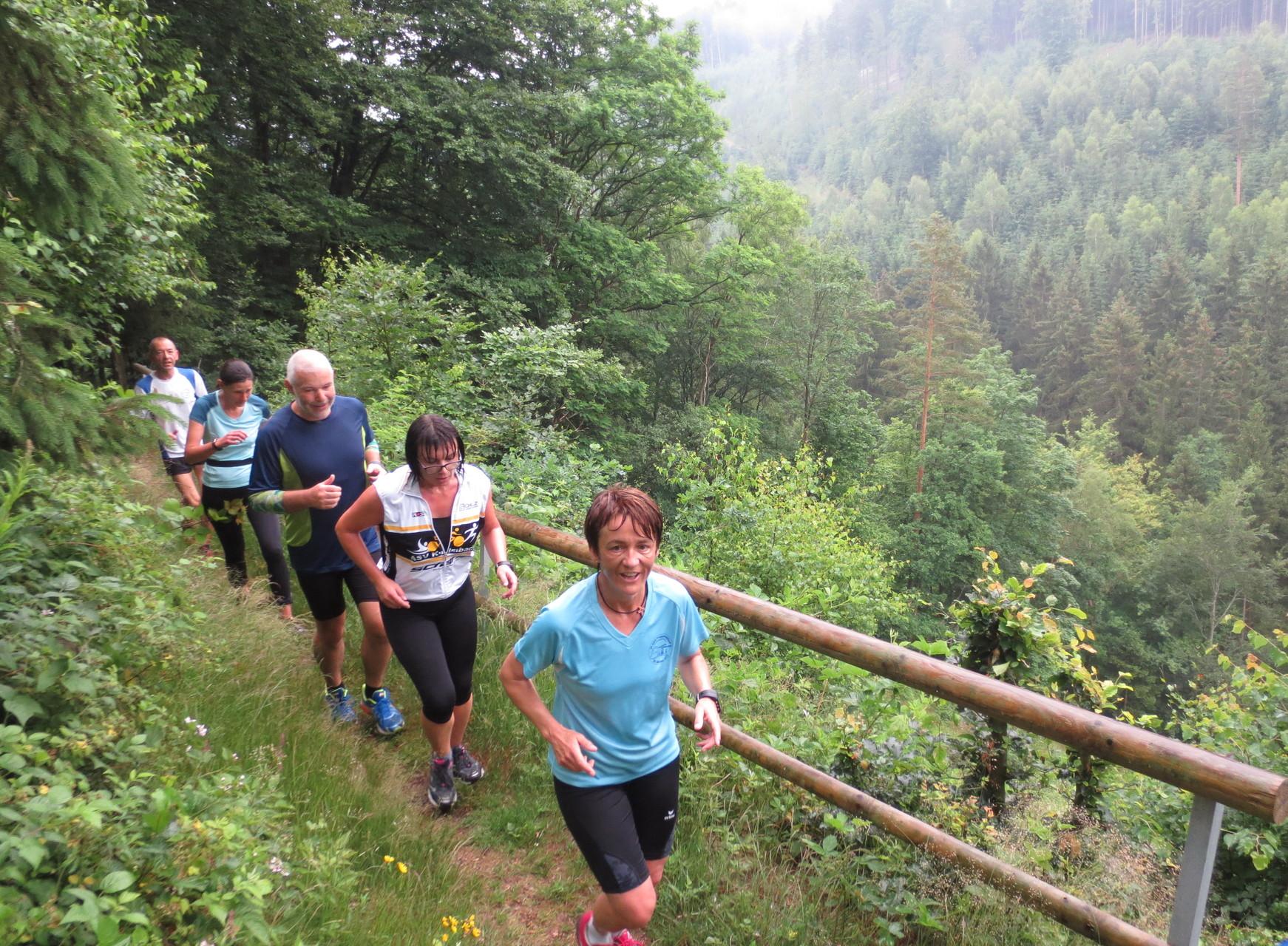 Wirsberg: Trailgenuss im Schorgasttal