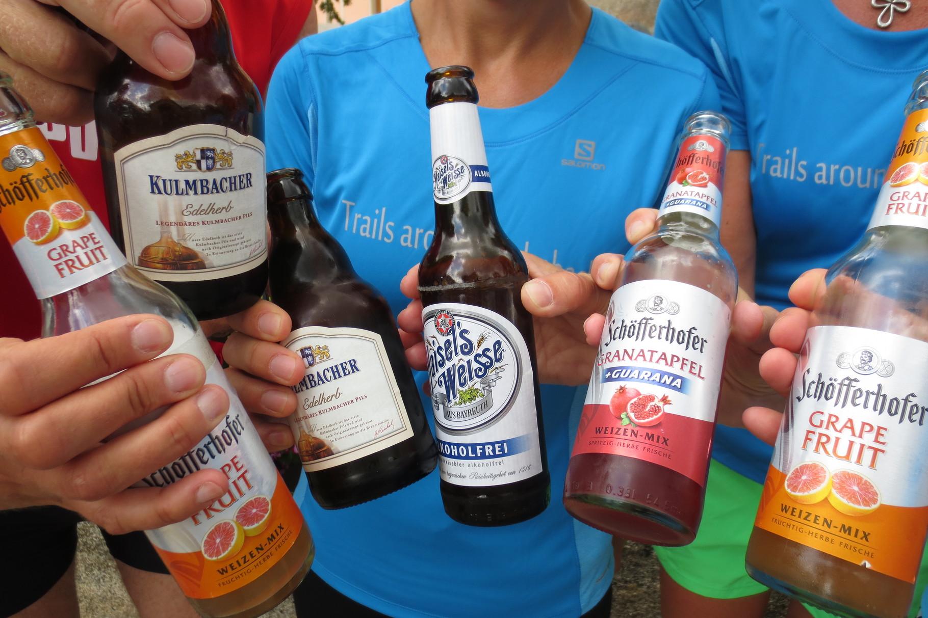 Ludwigschorgast: bunte Getränke-Mischung ;-)
