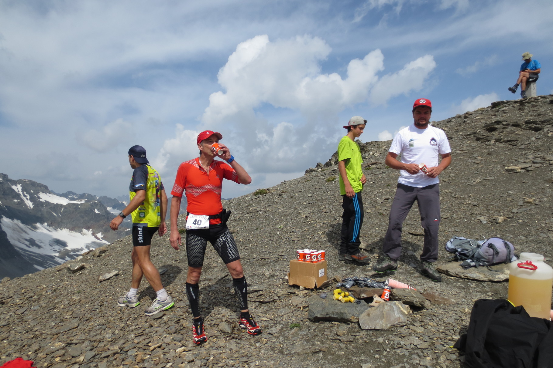 Kulminationspunkt Kronenjoch 2974 m
