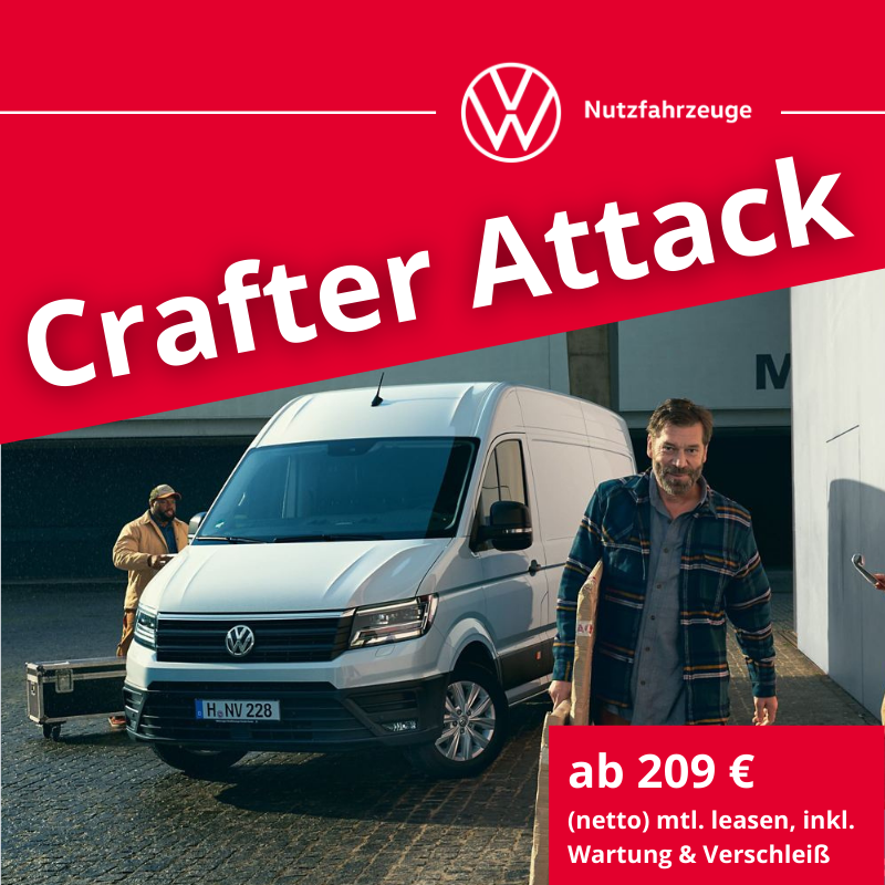 Crafter Attack - Angebote gültig bis 30.06.2021