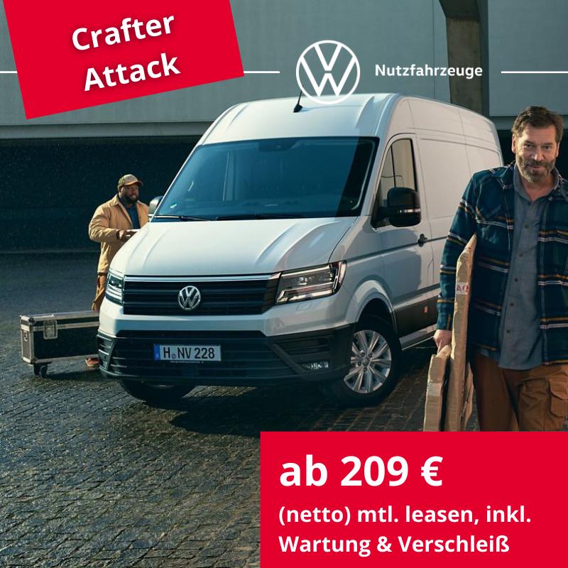 Crafter Kastenwagen EcoProfi- nur noch bis 30.06.2021