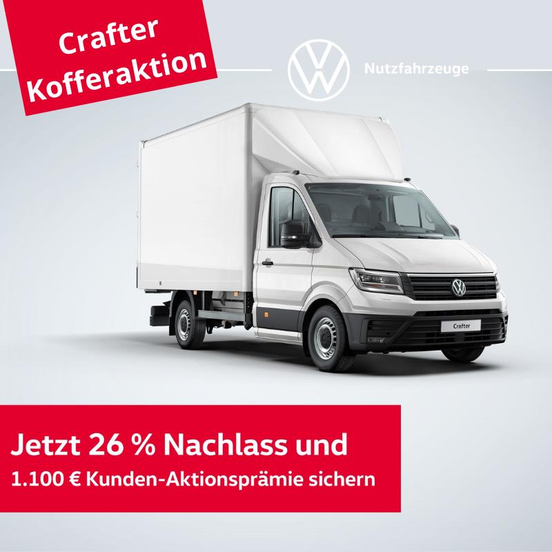Crafter Kofferaktion - bis 30.06.2021