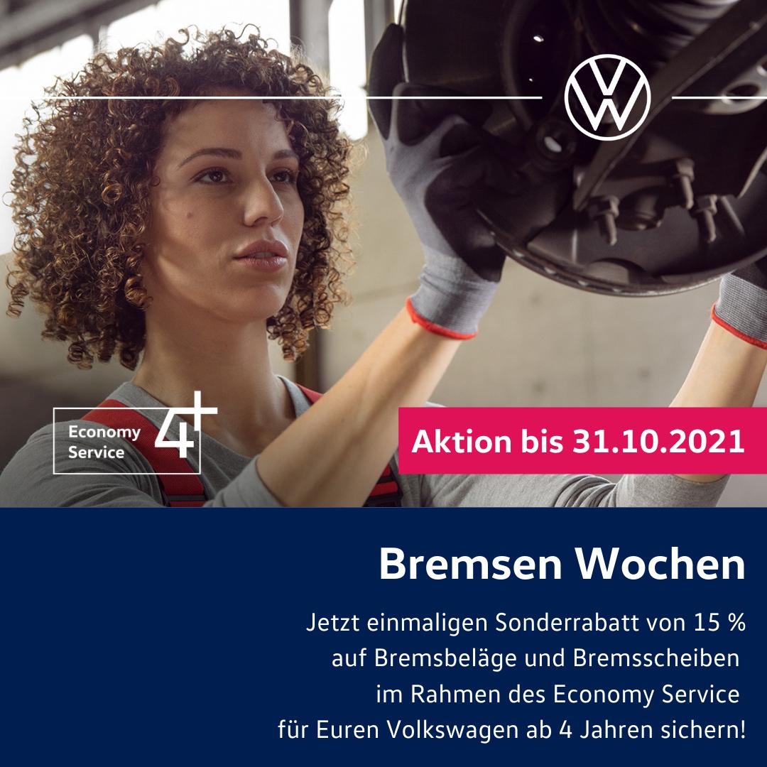Jetzt sind Bremsen Wochen bei Automobile Werner!