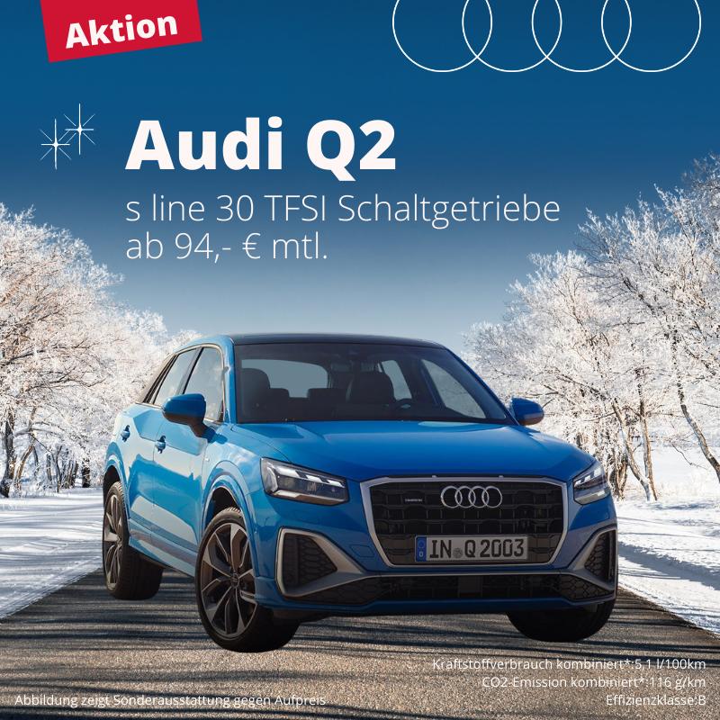 Privatleasing Angebot Audi Q2 gültig ab 10.01.2021
