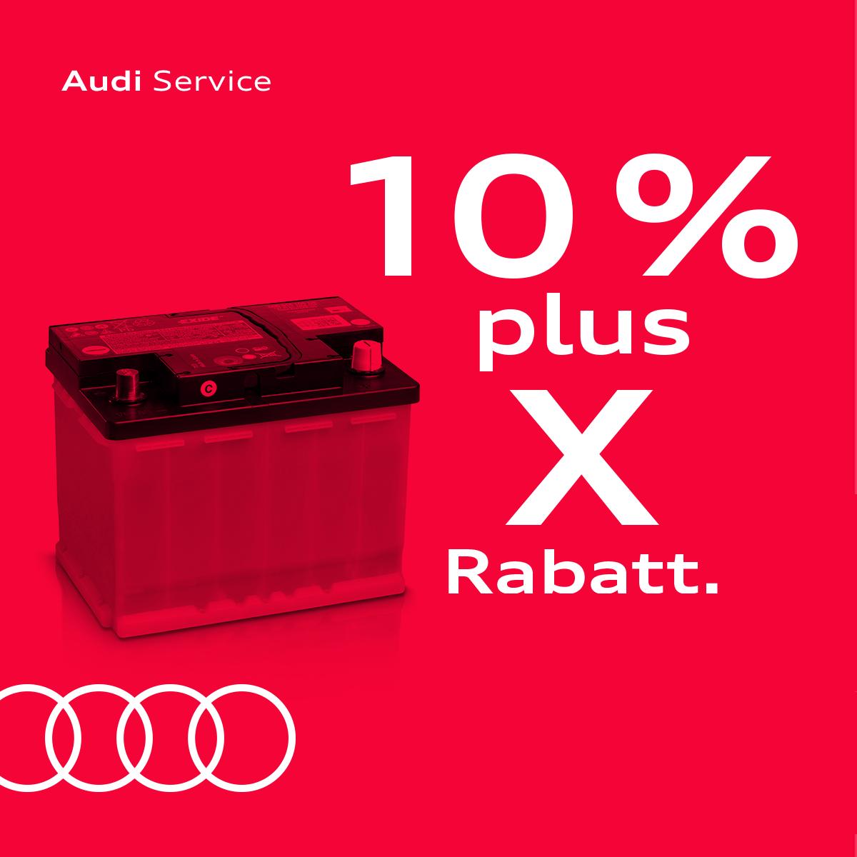 Je älter Ihr Audi – umso höher Ihr Rabatt!