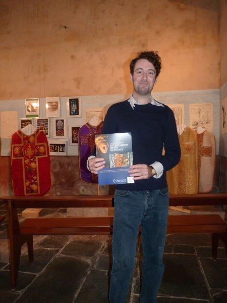 Guillaume DENNIEL de Pleyber-Christ, étudiant à l'Ecole du Louvre chargé par l'Association  des relations avec le Mécénat