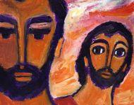 """Berna, Evangile et peinture  """"L'autre disciple entra: il vit et il crut."""""""