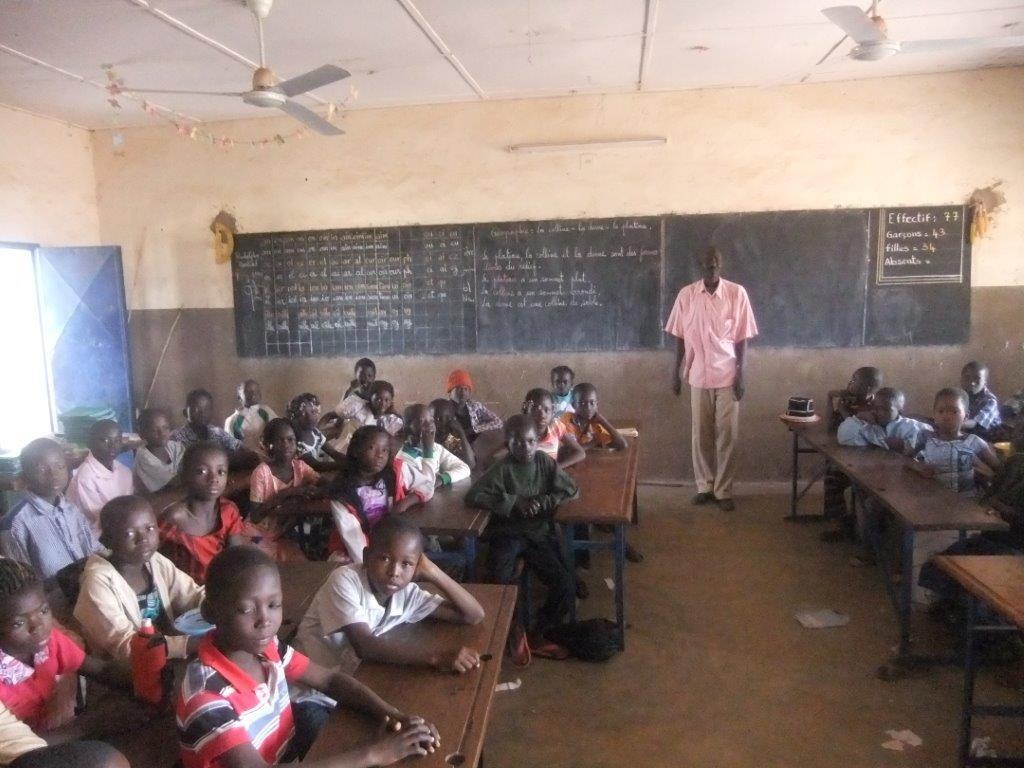 Classe de CM à Saint-Léonard