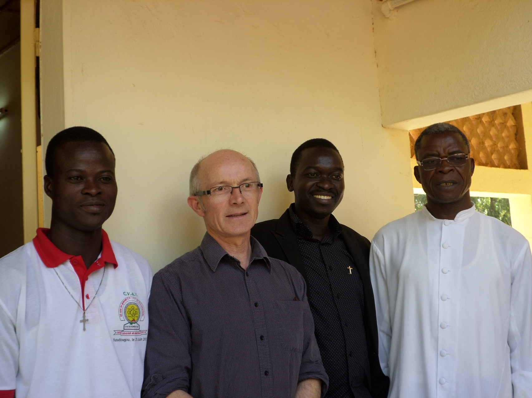 Julien, Yves, Michel et Blaise
