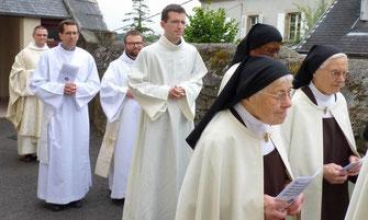 Solénnité du Mont Carmel au Carmel de Morlaix (07/2017)
