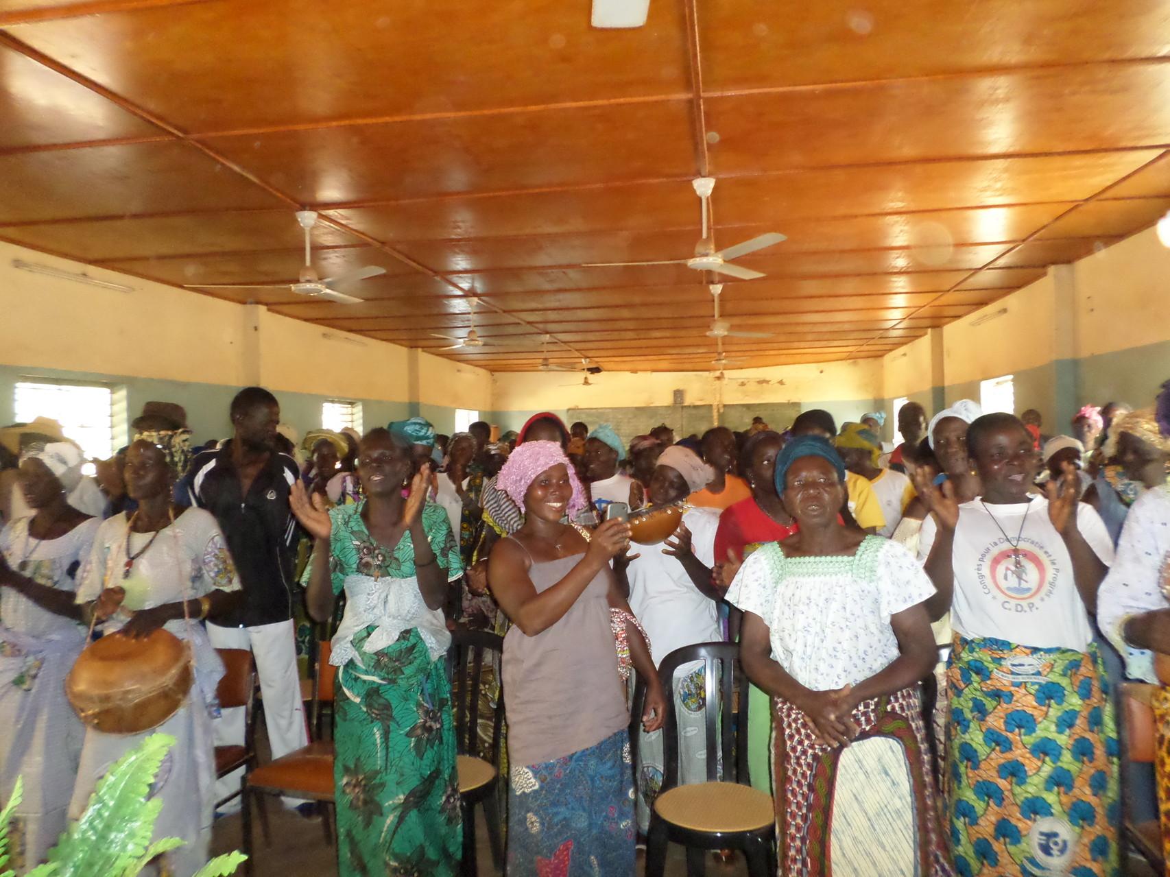 Communauté paroissiale Bonyolo