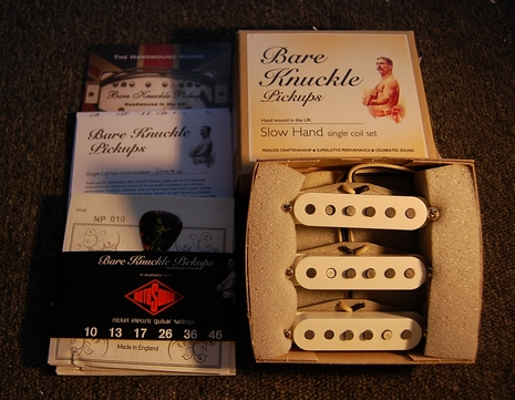 Bare Knukle Fender Startocaster set