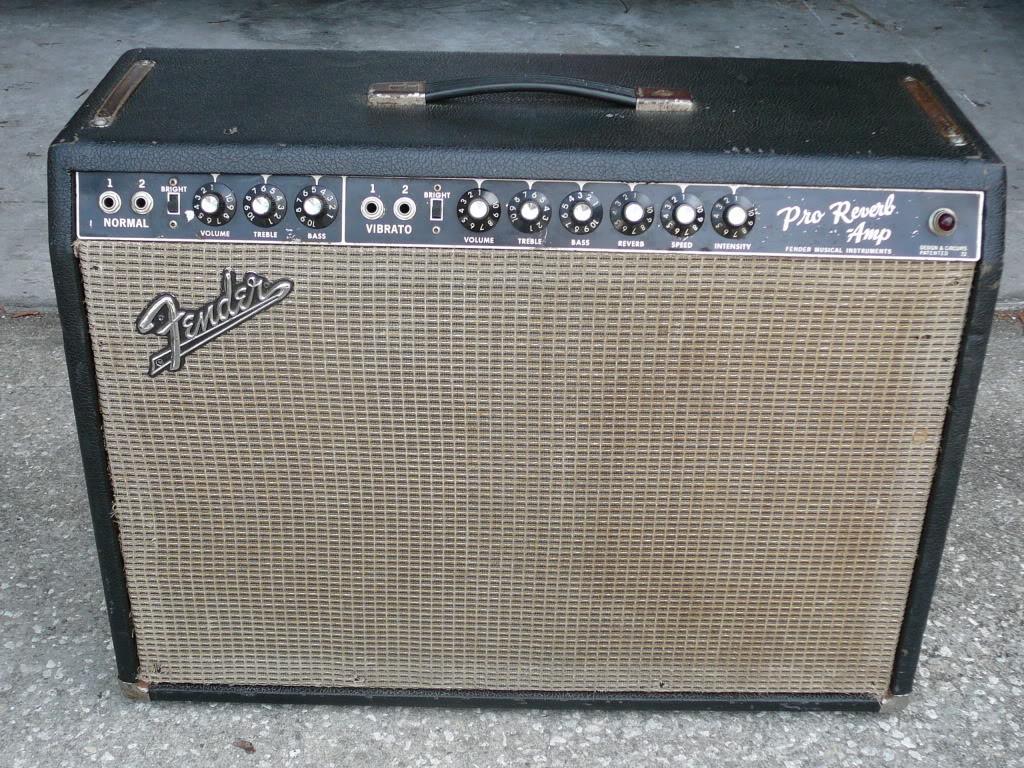 "Fender PRO Reverb 1965 Blackface 35w  2x12"" G12 GWS et Fane Alnico blue"