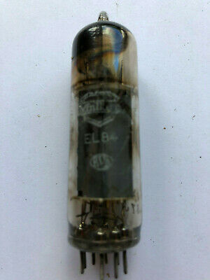 EL84 Mullard usée