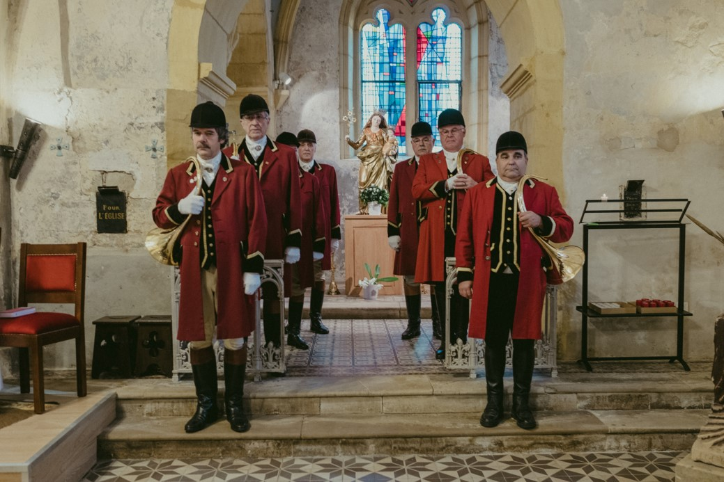 le 9/9/2017 en l'église de Pierrevillers pour le Mariage