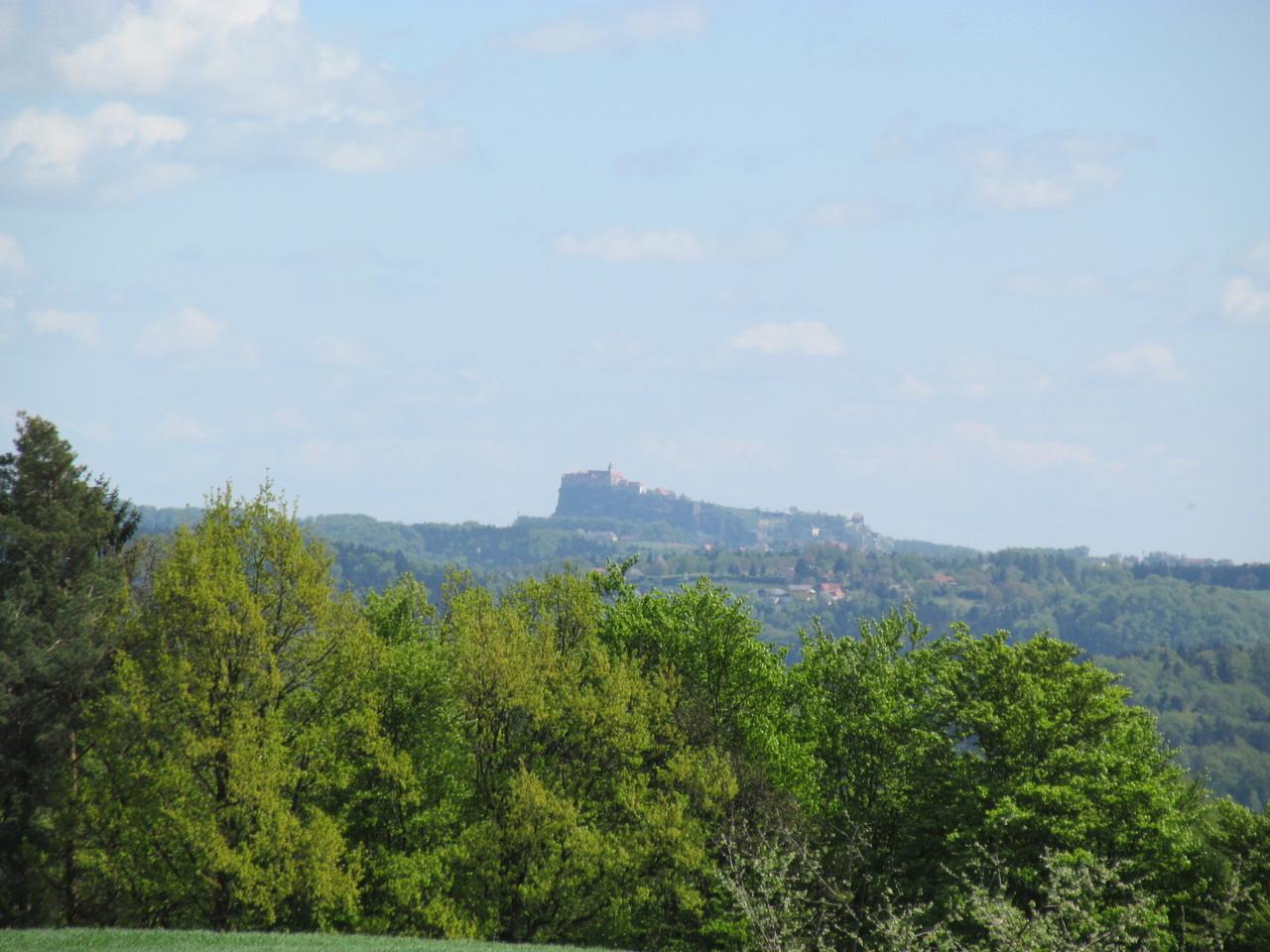 Blick auf die Riegersburg