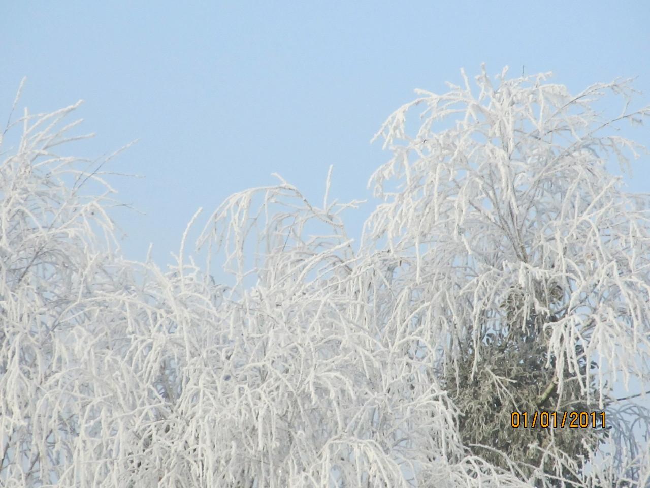 Vulkanland im Schnee...
