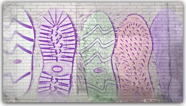 Schuh Sohlen Examples Art