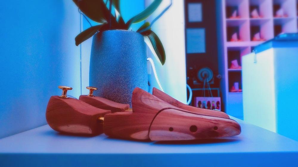 Zenderholz Schuhspanner aus Echtholz 2020
