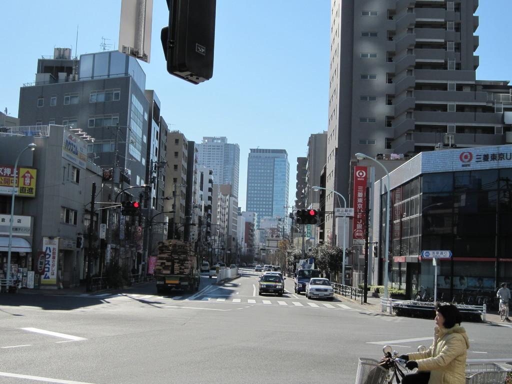 四つ目通りを錦糸町方面へ