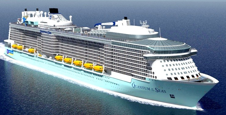 "Abbildung 13: ""Quantum of tue Seas"" (Quelle Meyer Werft)"