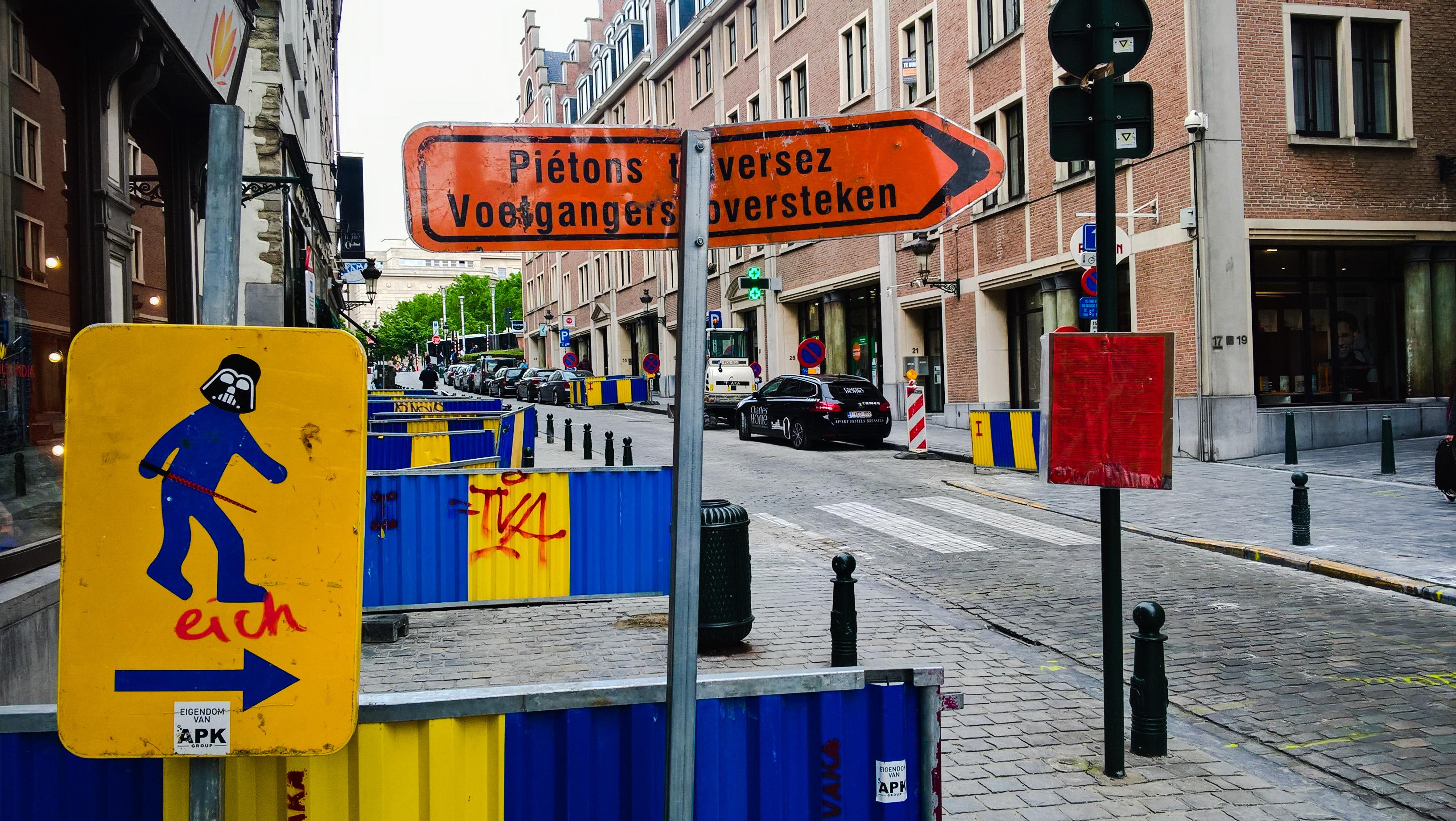 Bruxelles Rue de la Montagne