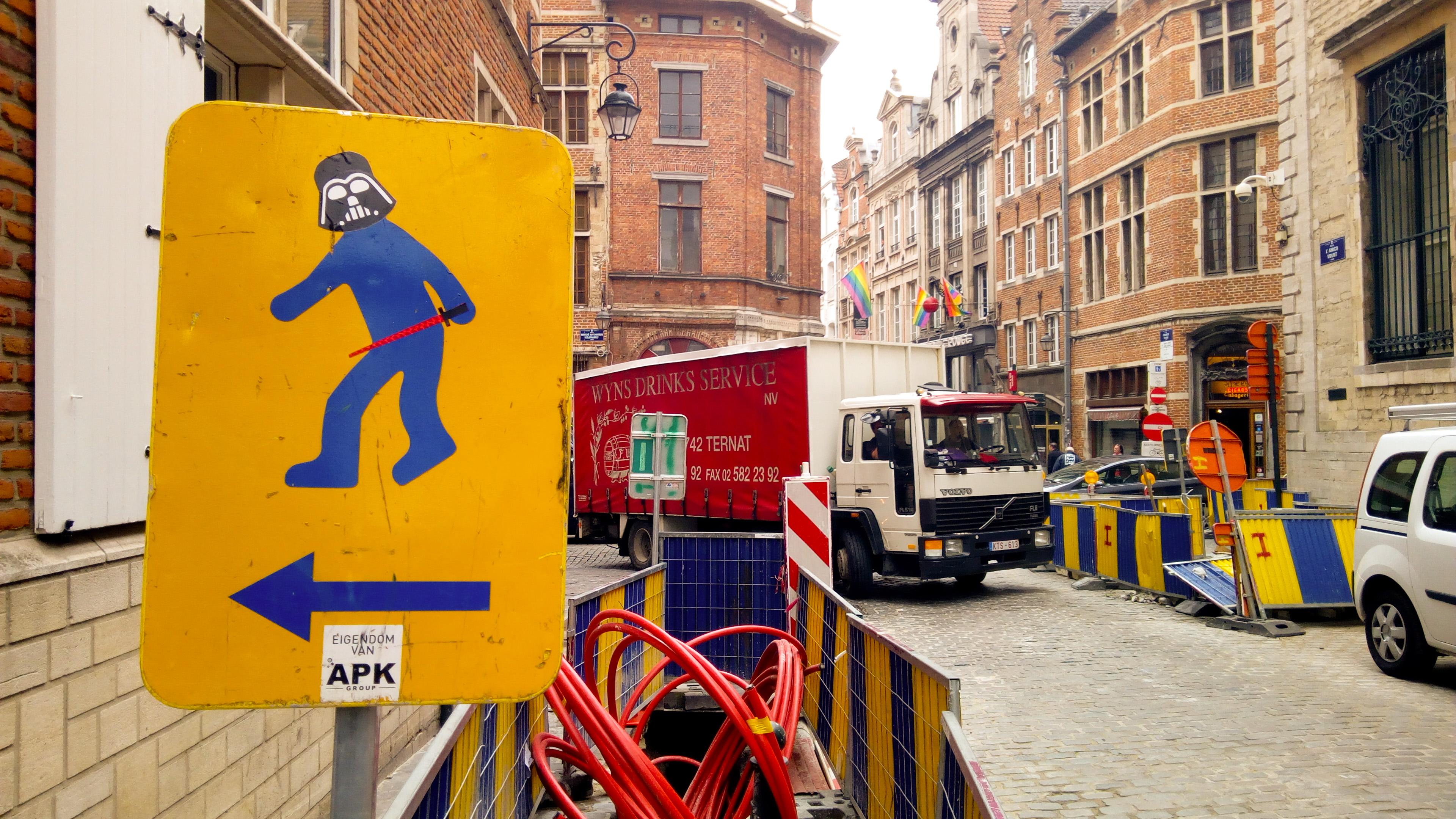 Bruxelles Rue de la Violette