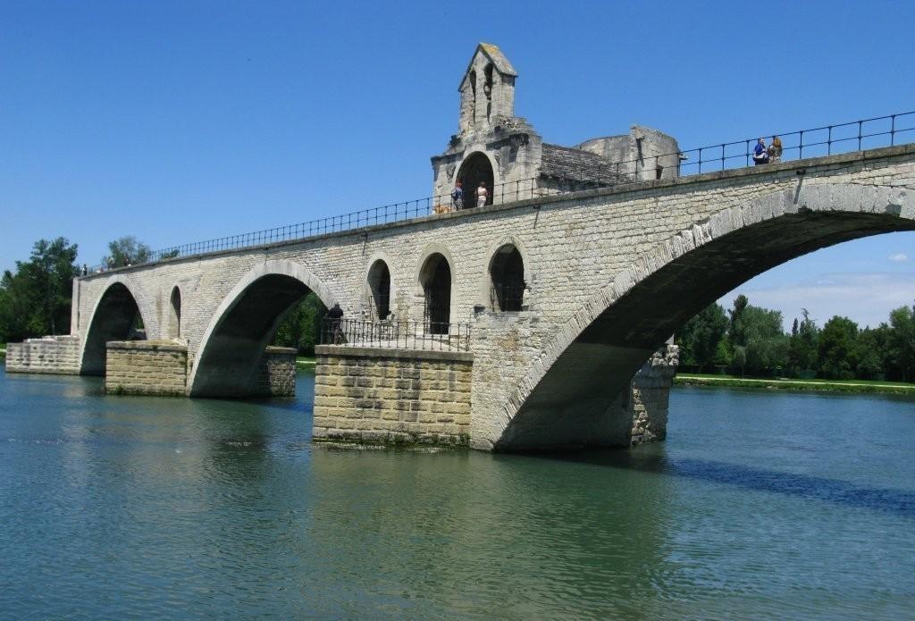 Мост Святого Бенезе Авиньон