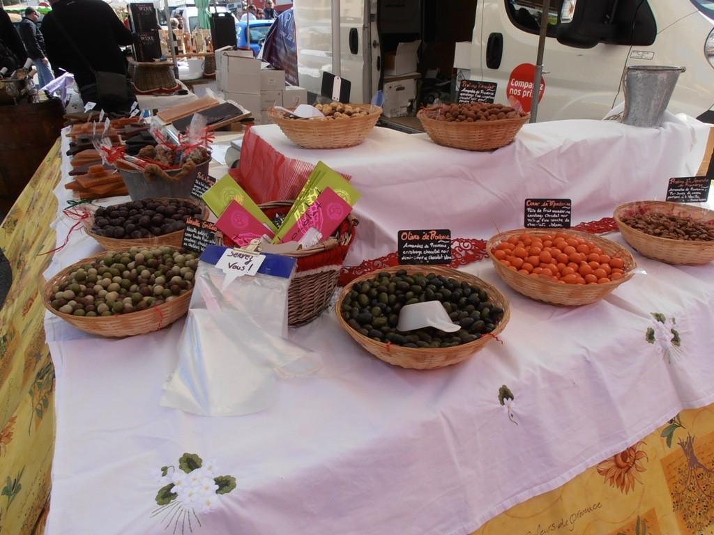 Конфеты - провансальские оливки в шоколаде