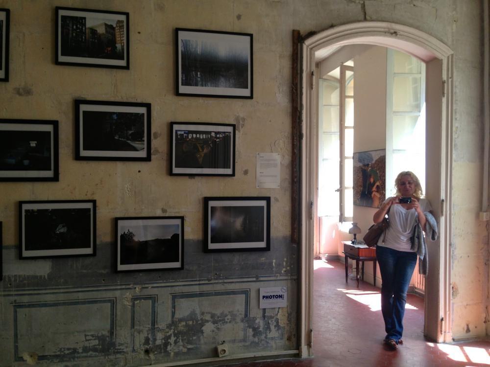 Во время недели открытия фестиваля фотографии в Арле