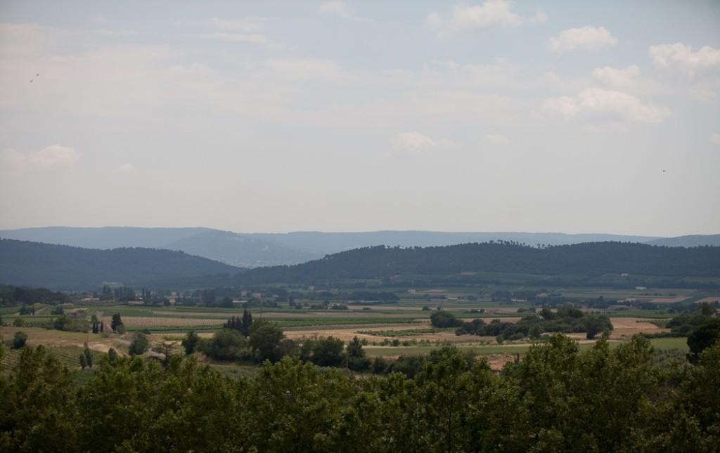 Вид на Люберон из Кюкюрона