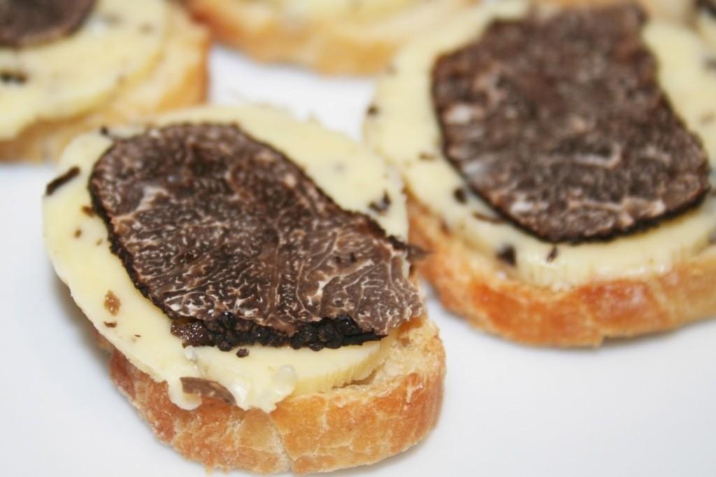 Бутерброды с трюфелем