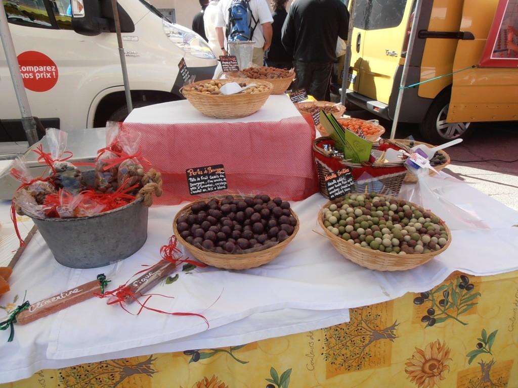 Провансальские оливки в шоколаде