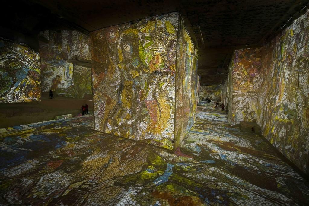 Карьеры Света - Марк Шагал - Мозаика