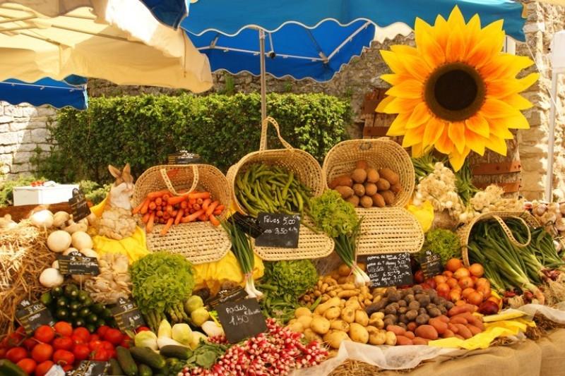 Традиционный провансальский рынок