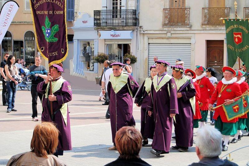 Торжественный парад на празднике клубники