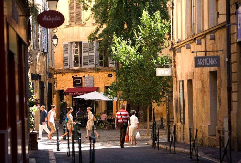 Историческая часть Экс-ан-Прованса