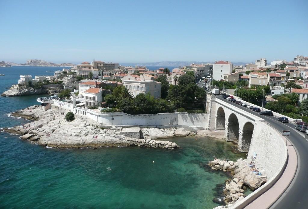 Мост фальшивомонетчиков в Марселе