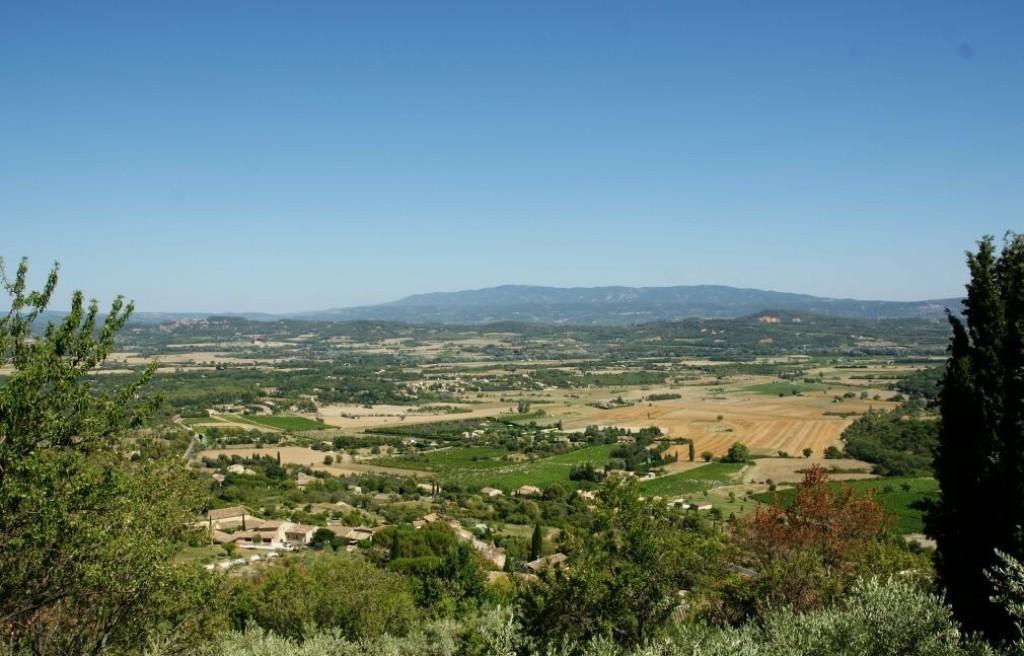 Панорамный вид из Горда на долину и горы