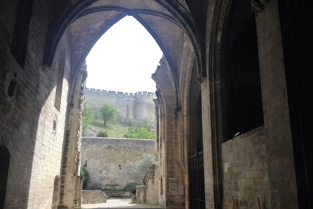 Вид из церкви монастыря Нотр-Дам-дю-Валь-де-Бенедиксьон