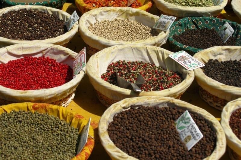 Специи на провансальском рынке
