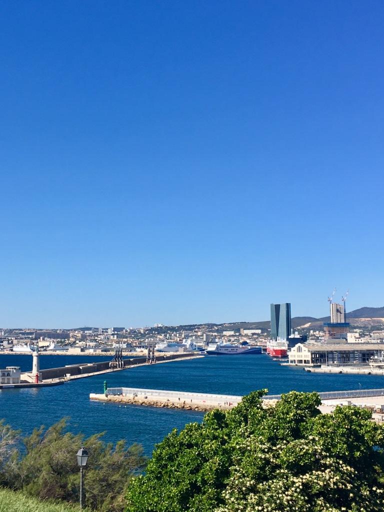 Круизный порт Марселя