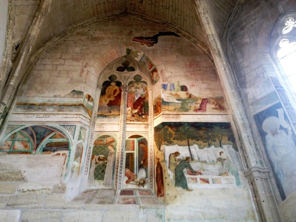 Фрески Маттео Джованетти - Нотр-Дам-дю-Валь-де-Бенедиксьон