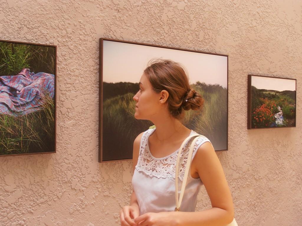 Маша на выставке фотоагенства MYOP - одна из моих любимых фотографий