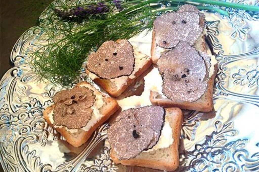 Закуска с трюфелем