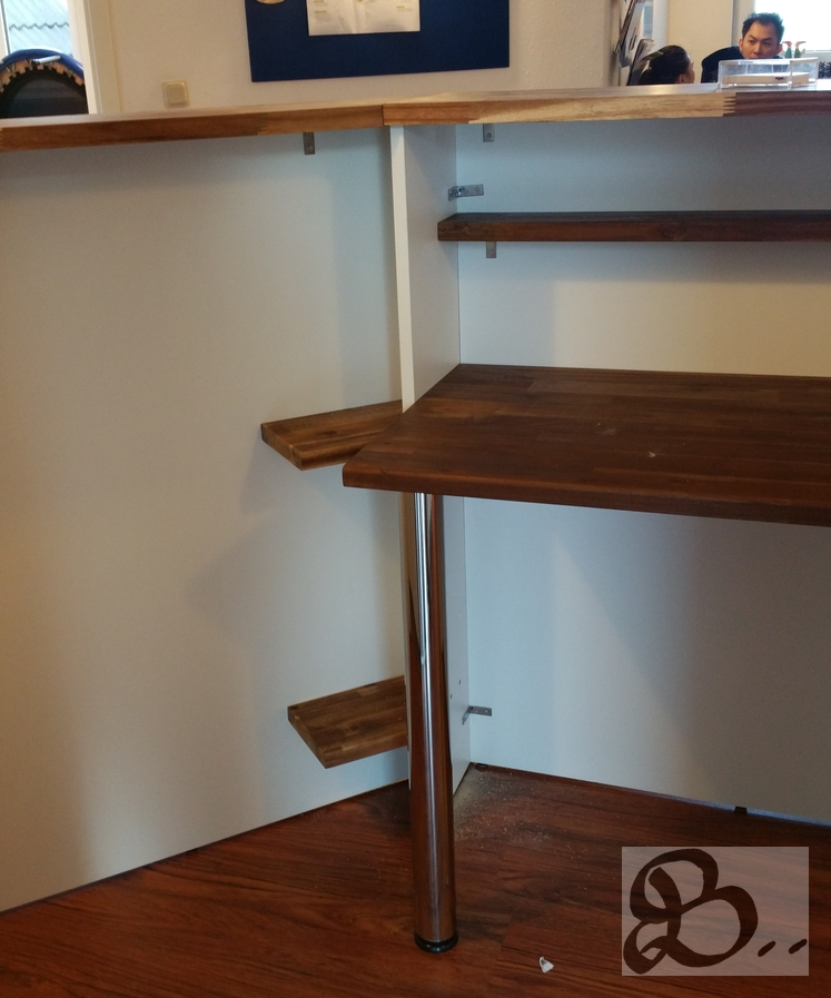 Holzwerk Peter Stoiber - Holzarbeiten - Empfangstheke für Büro