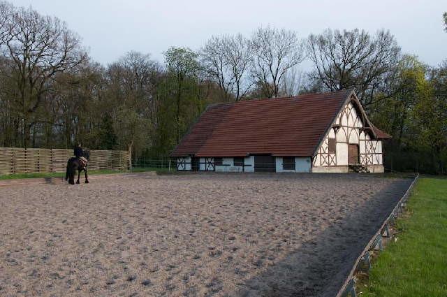 Außenplatz im Schlosspark
