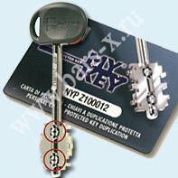 """Ключи с """"шариками"""" Mottura My Key"""