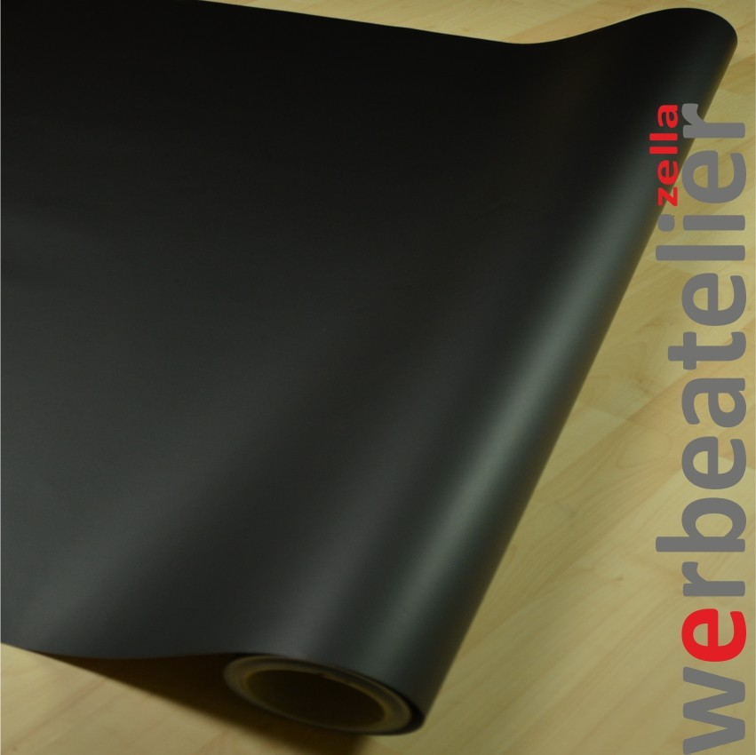 plotterfolie klebefolie schwarz matt b 63cm 5 50m qualit tsfolie f r au en ebay. Black Bedroom Furniture Sets. Home Design Ideas