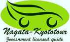 The logo image of the Kyoto sightseeing taxi English guide, Nobusan.